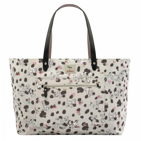 DISNEY REVERSIBLE SHOULDER TOTE SPOT SOFT STONE