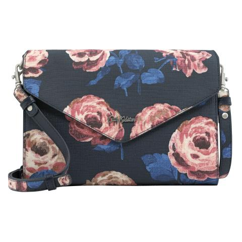 OCCASION CLUTCH BEAUMONT ROSE DARK NAVY