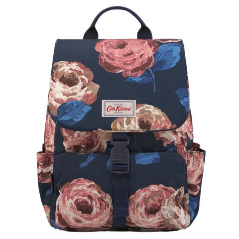 BUCKLE BACKPACK LARGE BEAUMONT ROSE DARK NAVY