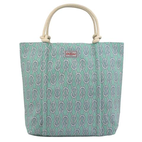 ROPE KNOT TOTE SAILORS KNOT JADE GREEN