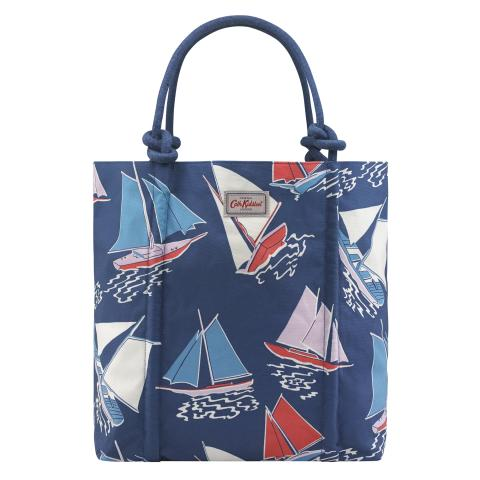 ROPE KNOT TOTE WHITBY WATERS NAVY