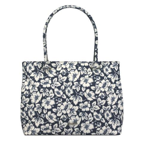 THE THISTLETON LARGE TOTE DIDWORTH FLOWERS NAVY