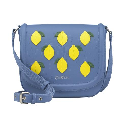LEMON CROSS BODY SOLID RIVIERA BLUE