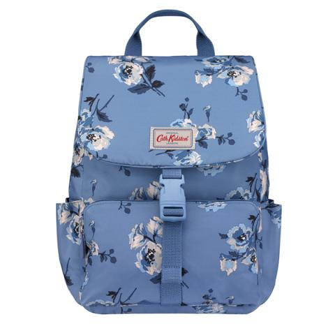 BUCKLE BACKPACK ISLAND BUNCH MID BLUE