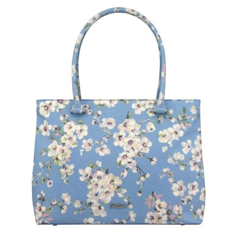 THE THISTLETON LARGE TOTE WELLESLEY BLOSSOM SOFT BLUE