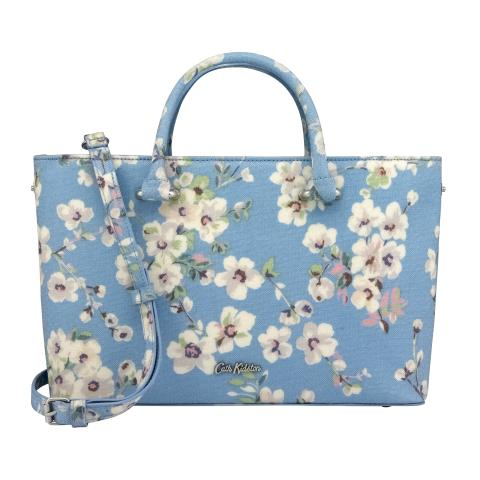 THE THISTLETON SMALL TOTE WELLESLEY BLOSSOM SOFT BLUE