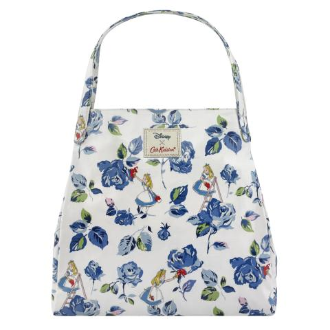 PAINTING THE ROSES LIGHT CREAM DISNEY SHOULDER TOTE