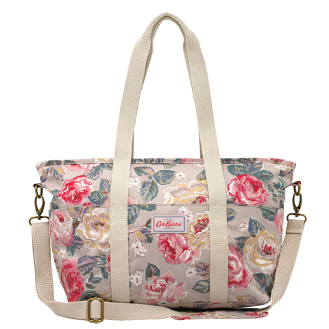 TOTE BAG FOREST ROSE TAUPE