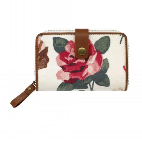 ZIP WALLET CHISWICK ROSE