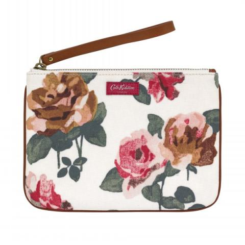 LARGE PREMIUM POUCH CHISWICK ROSE