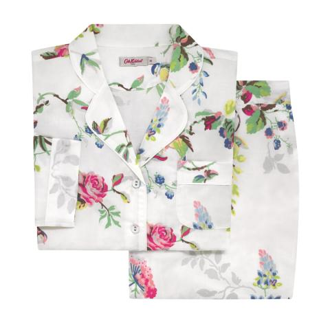 BIRDS & ROSES PJ SET