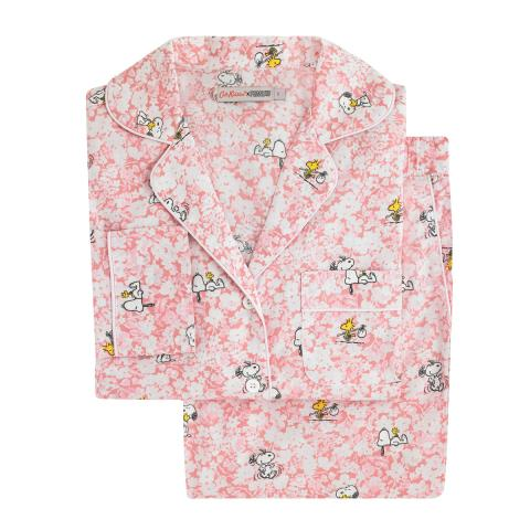 SNOOPY LONG PJ SET