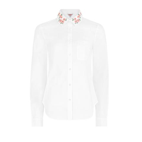 MAYFIELD BLOSSOM EMB SHIRT