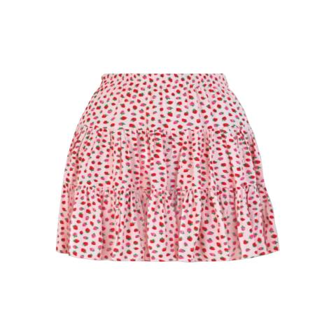 SMALL STRAWBERRY MINI SKIRT