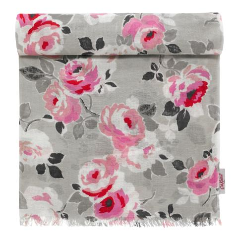SHAWL  PAPER ROSE DOVE GREY
