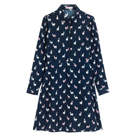 MINI ALPACA SHIRT DRESS