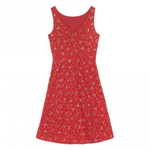 POSEY BRIGHT RED DRESS UK