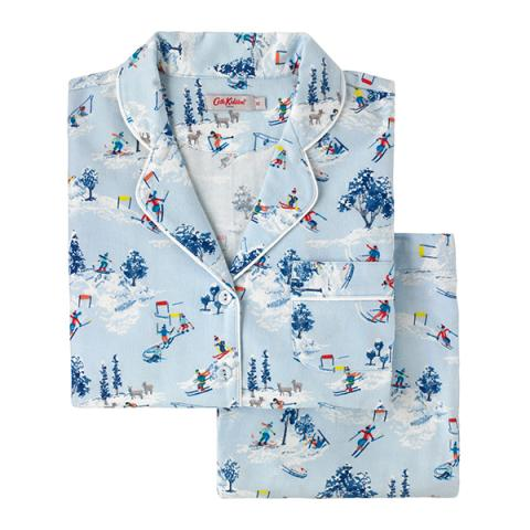 SNOW SCENE PJ SET XS