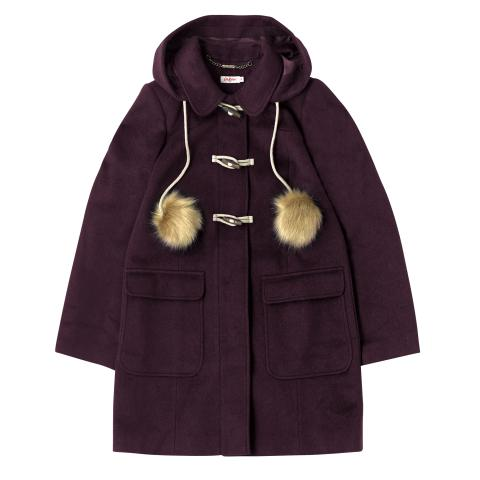 DUFFLE COAT BURGUNDY 8