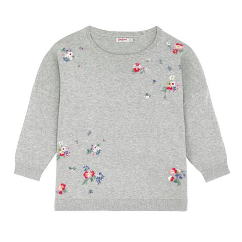 EMBROIDERED JUMPER EMBROIDERY IVORY