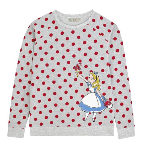 DISNEY PLACEMENT JUMPER #1 PAINTING THE ROSES PL02 GREY MARL