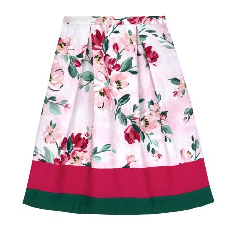 PAINTBOX FLOWERS PL02 SKIRT