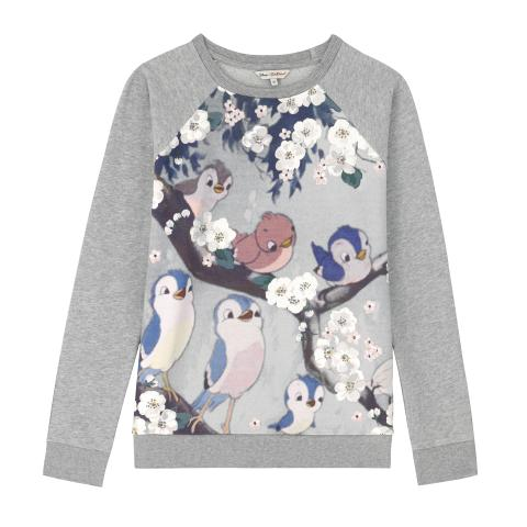SINGING BIRDS SWEATSHIRT