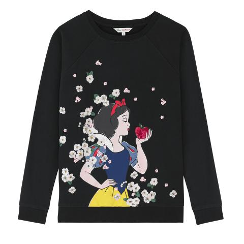 SNOW WHITE SCENE SWEATSHIRT