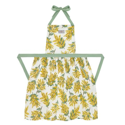 Mimosa Flower Pinafore Apron