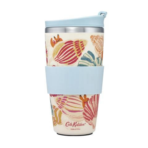 TRAVEL CUP SEASIDE SHELLS