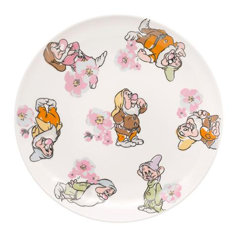 TEA PLATE DWARFS AND BLOSSOM