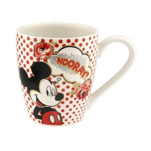 DISNEY MUG HOORAY ROSE