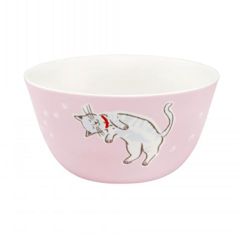 CEREAL BOWL SQUIGGLE CATS