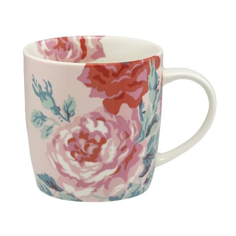 BOXED GIFT MUG ANTIQUE ROSE DUSTY PINK