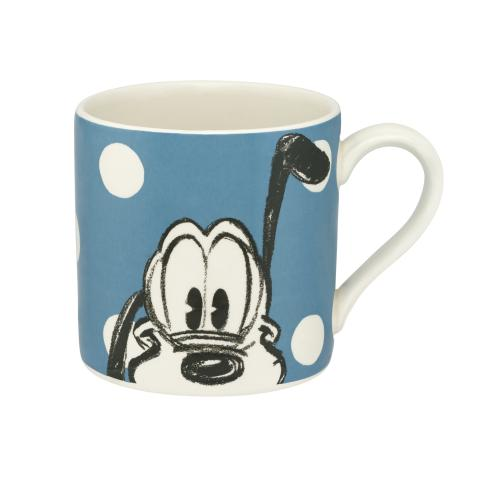 Disney Placement Mug Pluto Mickey & Friends Placement Blue