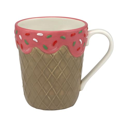 ICE CREAM NOVELTY MUG PLAIN MULTI