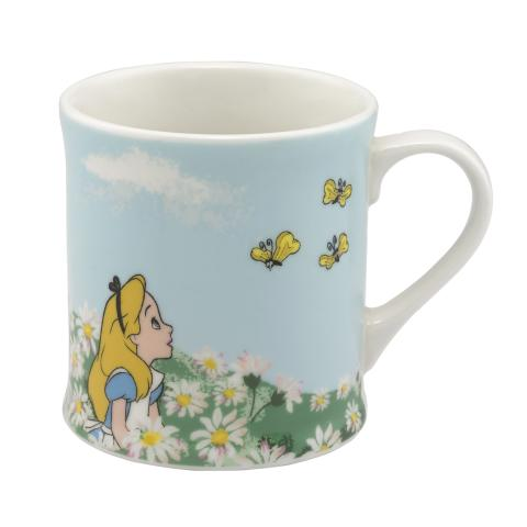 BOXED GIFT MUG ALICE`S MEADOW SEA BLUE