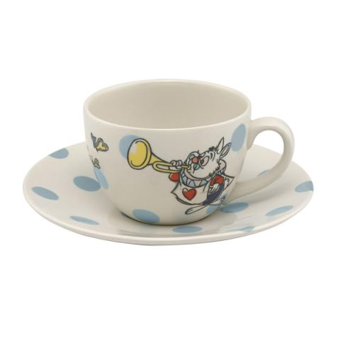 TCUP SAUCER ALICE AND FRIENDS