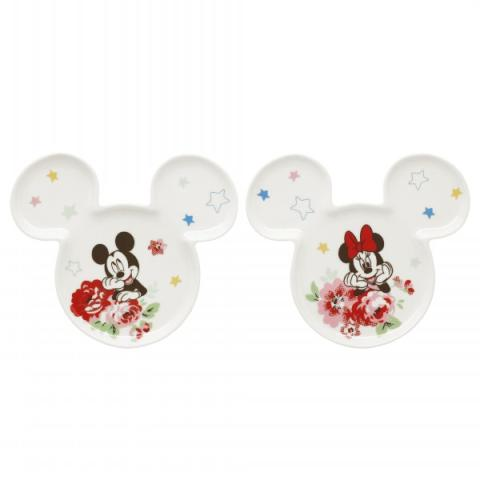 DISNEY TWO COASTERS PLAIN