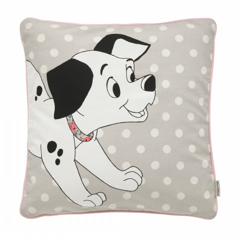 DISNEY DALMATIAN 40X40 CUSHION PUPPY SOFT STONE