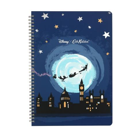 DISNEY A4 SPIRAL BOUND NOTEBOOK MIDNIGHT PLACEMENT SOFT NAVY