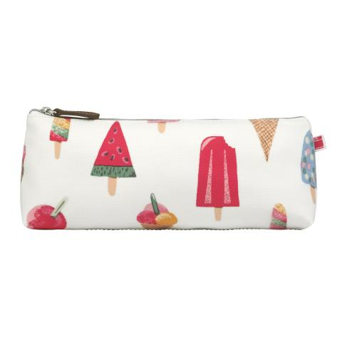 TRAPEZE PENCIL CASE ICE CREAM STONE