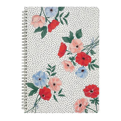 A4 SPIRAL BOUND NOTEBOOK SALTWICK BUNCH STONE