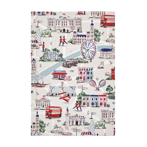 LONDON MAP STONE A5 HARDBACK NOTEPAD