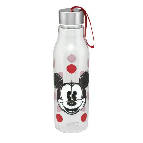 Disney Water Bottle  Mickey & Friends Placement Light Grey