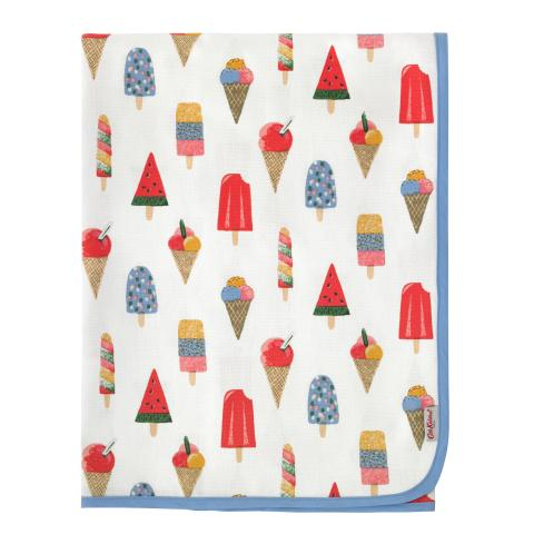 LARGE TABLE CLOTH ICE CREAM STONE