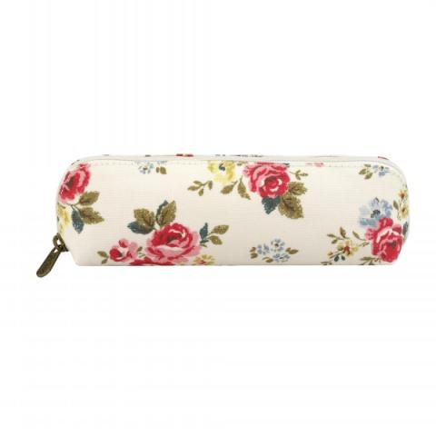 CURVED PENCIL CASE FIELD ROSE