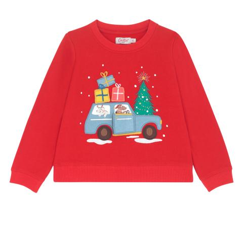 SWEATSHIRT CHRISTMAS VILLAGE
