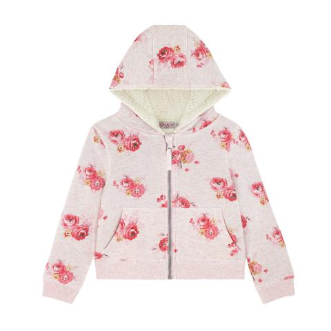 KIDS HOODIE SPACED WELLS ROSE