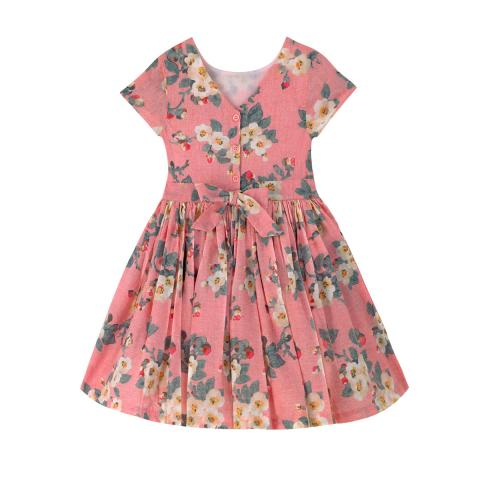 V-BACK DRESS MAYFIELD BLOSSOM